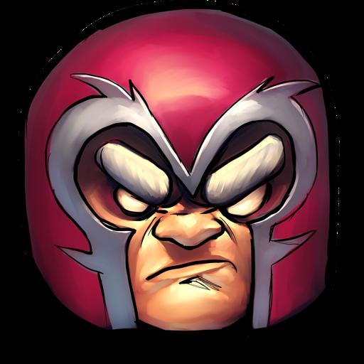 Comics Magneto Icon Ultrabuuf Iconset Mattahan