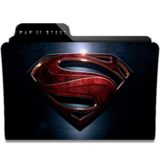 Man Of Steel Folder Icon