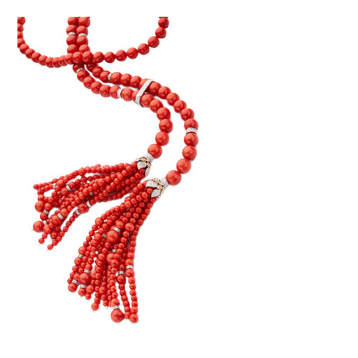 Icon Coral Necklace