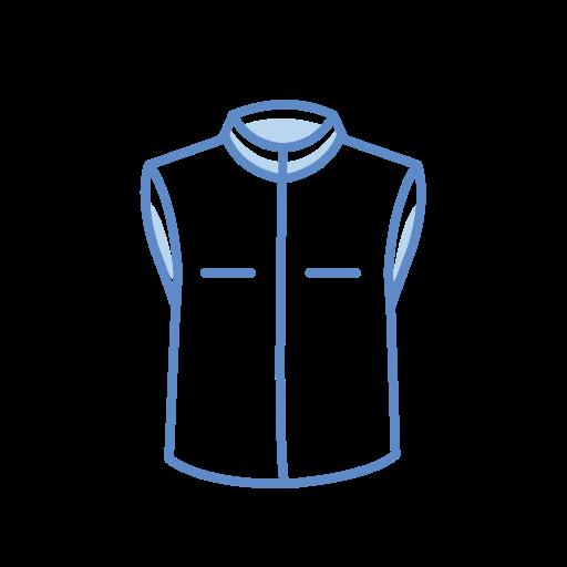 Men's, Sleeveless, Jacket Icon Free Of Clothing Icons Stroke Color