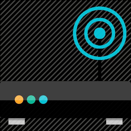 Antenna, Electronic, Gadget, Router, Single, Tech, Wifi Icon