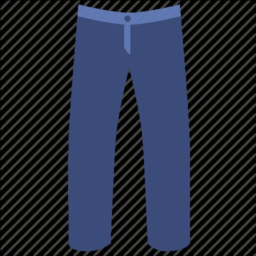 Denim, Jeans, Pants, Trouser Icon