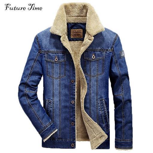 M Men Jacket And Coats Brand Clothing Denim Jacket Mens Jeans