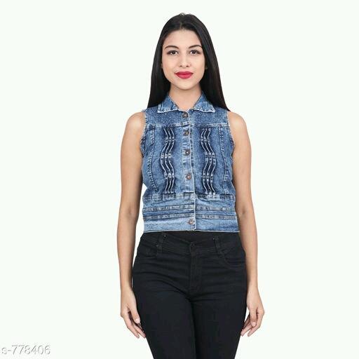 Trendy Denim Jacket For Women