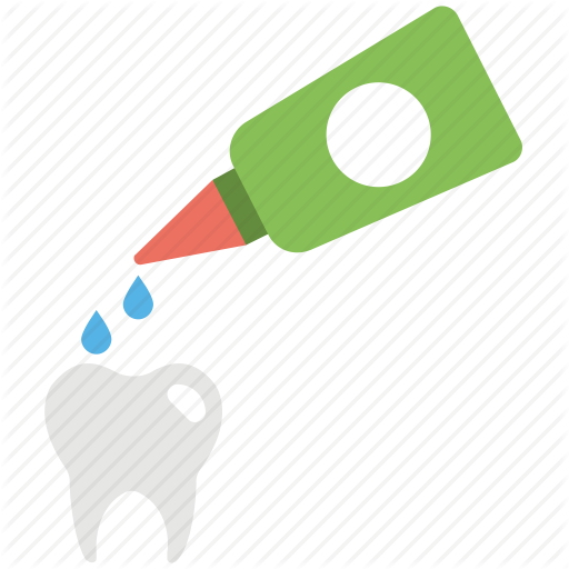 Cleaning, Dental, Dropper, Drops, Tooth Icon