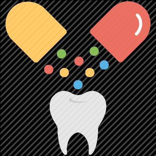 Dental Cure, Dental Filling, Dental Treatment, Medicine, Tooth Icon