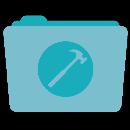 Folder Developer Icon Stock Folder Iconset Hamza Saleem