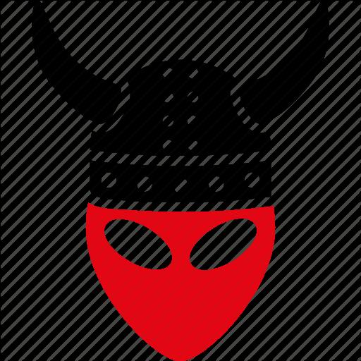 Alien, Armor, Devil, Horned Helmet, Knight, Monster, Warrior Icon
