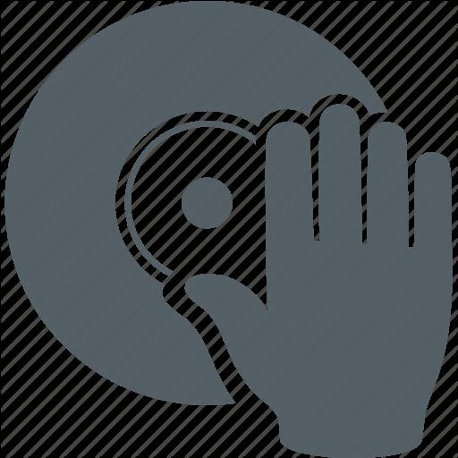Dj, Hand, Media, Music, Sound, Vinyl Icon