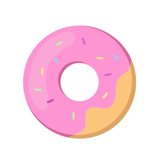 Donut, Donut, Doughnut Icon With Png And Vector Format For Free