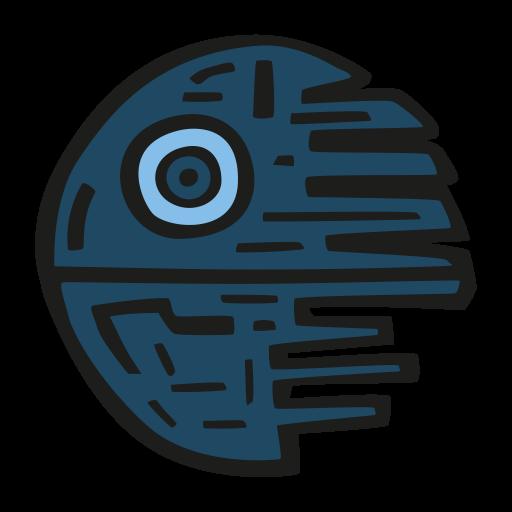 Death Star Icon Free Space Iconset Good Stuff No Nonsense