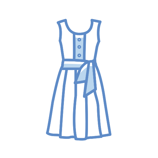 Tunic, Dress Icon Free Of Clothing Icons Stroke Color