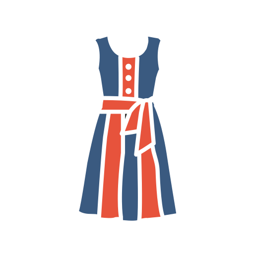 Tunic, Dress Icon Free Of Clothing Icons Colored