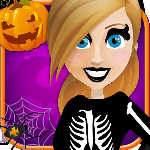 Halloween Party Salon Horror Night Fashion Dress Up Free Makeup