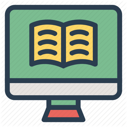 Education, Learning, Monitor, Online, Onlineclass, Screen Icon