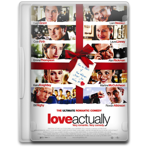 Love Actually Icon Movie Mega Pack Iconset