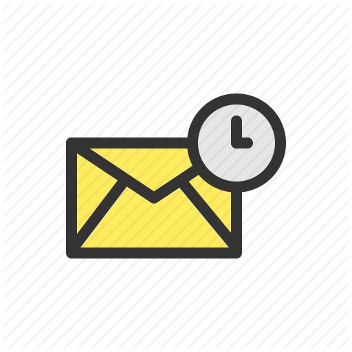 Colorful Email Line Icons'