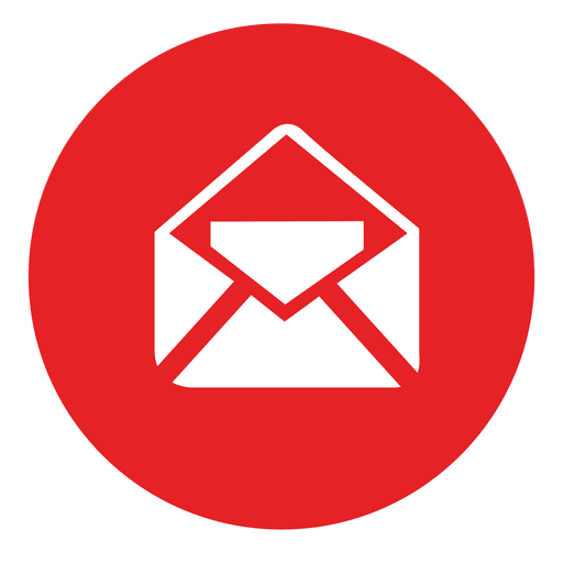 Email Round Icon