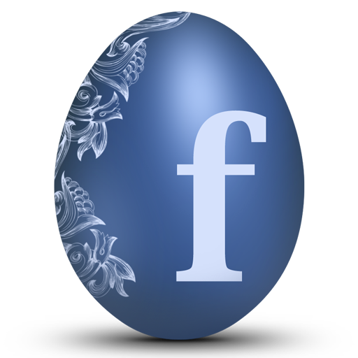 Facebook Easter Egg Icon Free Icons Download
