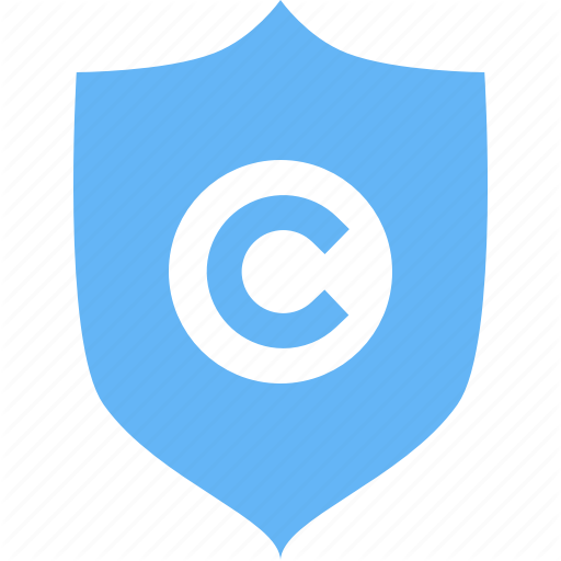 Article, Blog, Copyright, Copyrighter, Guard, Protection, Shield Icon