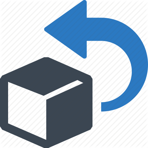 Box, Delivery, Easy Returns, Return Icon