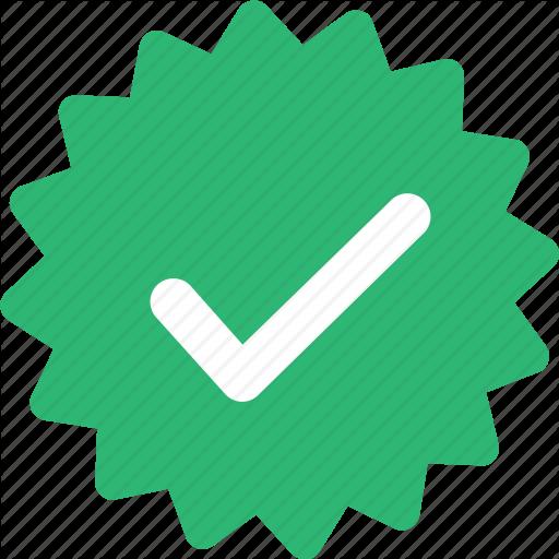 Check, Easy, Ok, Sticker, Success Icon