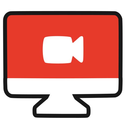 Online, Screencast, Web, Conference, Live Icon Free Of Youtuber