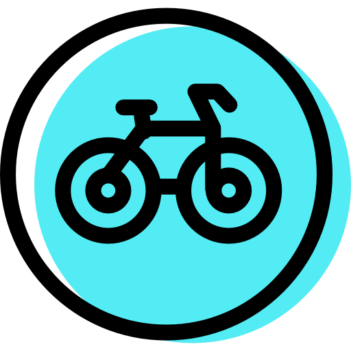 Bicycle, Traffic, Sign Icon Free Of Color Traffic Signs