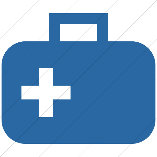 Simple Blue Ocha Humanitarians Food Nfi Medical Supply Icon