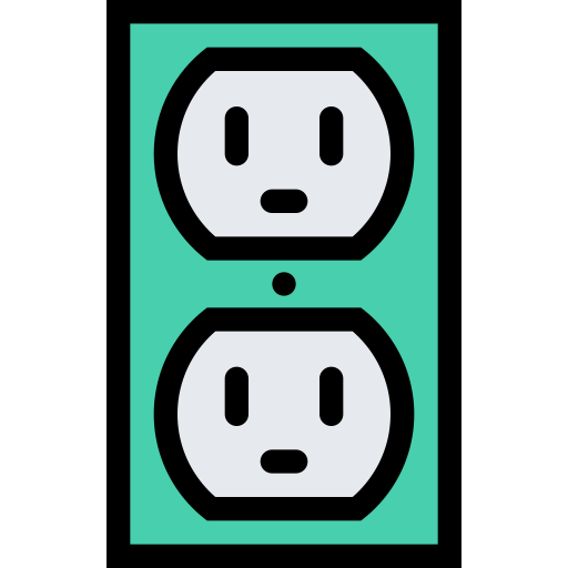 Socket, Electric Socket, Electricity Icon With Png And Vector