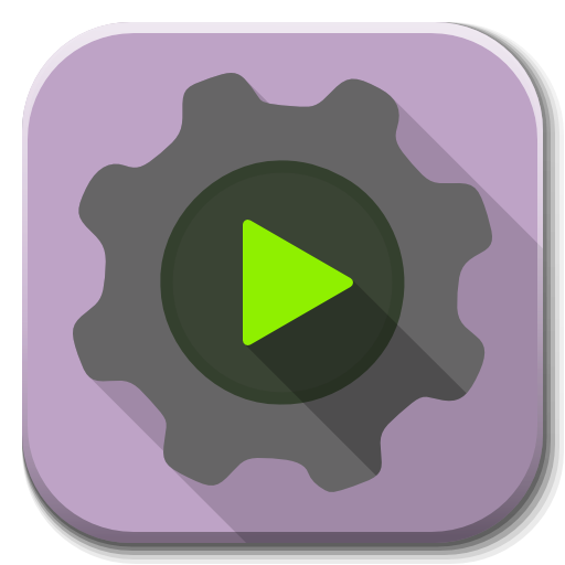 Apps Run Executable Icon Flatwoken Iconset Alecive