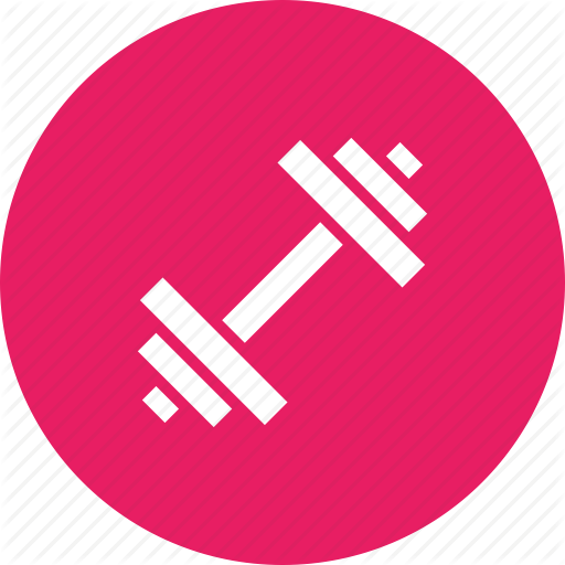 Dumbbell, Exercise, Fitness, Gym, Strength, Training, Workout Icon