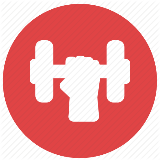 Exercise, Fitness, Gym, Power, Training, Workout Icon
