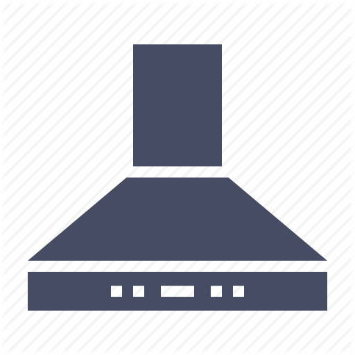 Chimney, Extractor, Fan, Induction, Kitchen, Smoke Icon