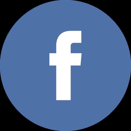 Circle, Facebook Icon