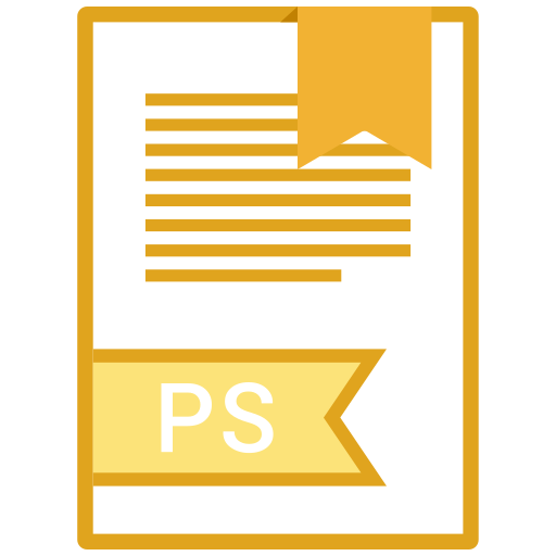 , Extension, Ps, Filetype Icon Free Of Extension Names Vol