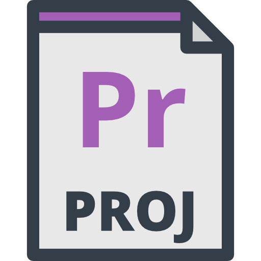 Pr, And Folders, Extension Icon