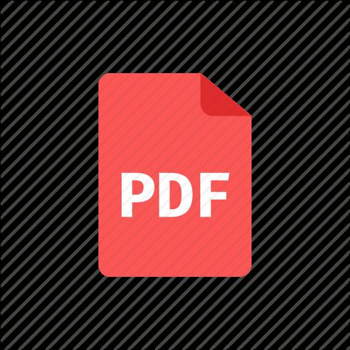 , Pdf Icon