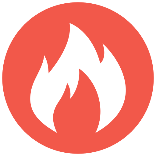 Fire, Fill, Flat Icon With Png And Vector Format For Free