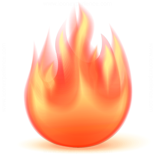 Iconexperience V Collection Fire Icon