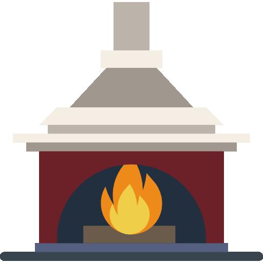 Fireplace Icon Household Compilation Smashicons