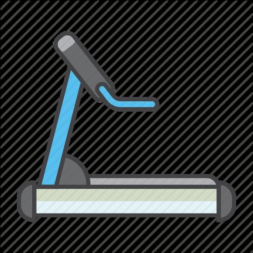 Equipment, Exercising, Fitness, Gym, Running, Treadmill Icon