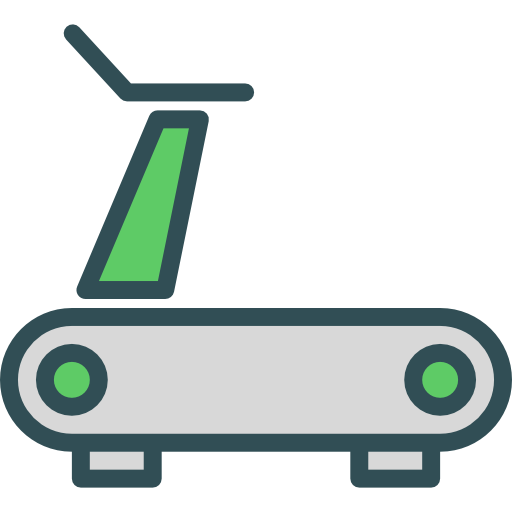 Treadmill, Sports And Competition, Sports, Fitness, Gym, Exercise Icon
