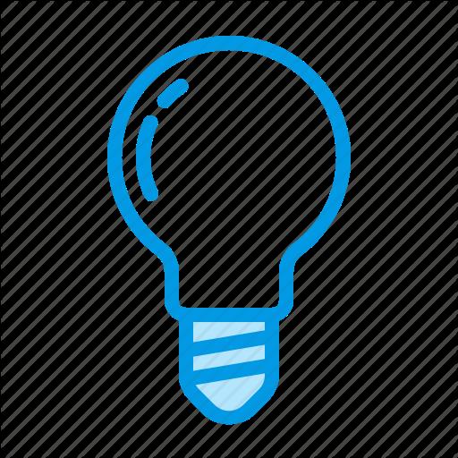 Bulb, Interior, L Light Icon
