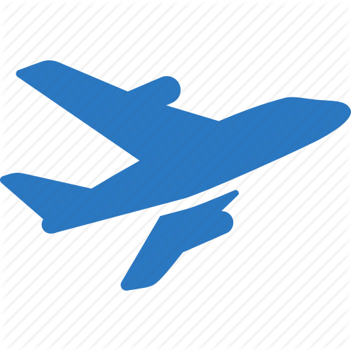 Aircraft, Airplane, Plane, Transport, Travel, Vacation, Vehicle Icon