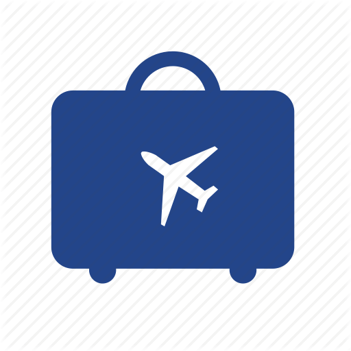 Bag, Baggage, Booking, Flight, Luggage, Travel, Trip Icon