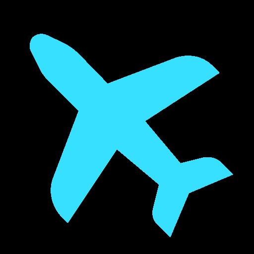 Airplane, Flight, Transport, Travel Icon Free Of Expenses Vs
