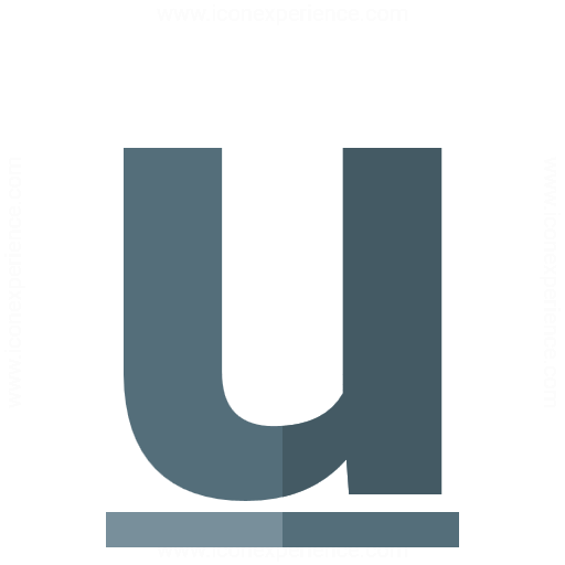 Iconexperience G Collection Font Style Underline Icon