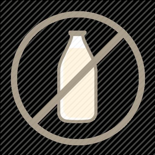Dairy Free, Lactose Free, Low Lactose, No Dairy, No Milk, Vegan Icon