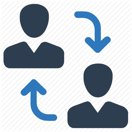 Employee Change, Job, Replacement, Switch Icon
